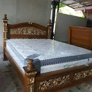 tempat tidur jati murah
