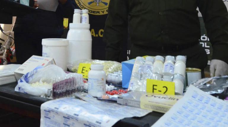 El caso estalló a principios de año descubriendo una red que comercializaba fármacos en galpones / ARCHIVOS