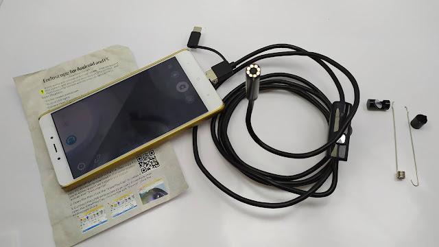 كاميرا المنظار (السلك) 1200P للتفتيش و البحت 1200P Android PC Endoscope Camera