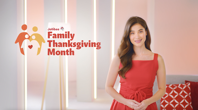 Anne Curtis, Family Ambassador Jollibee's Family Thanksgiving Month