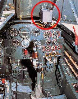 Коллиматорный прицел в кабине Мессершмитт Me.262