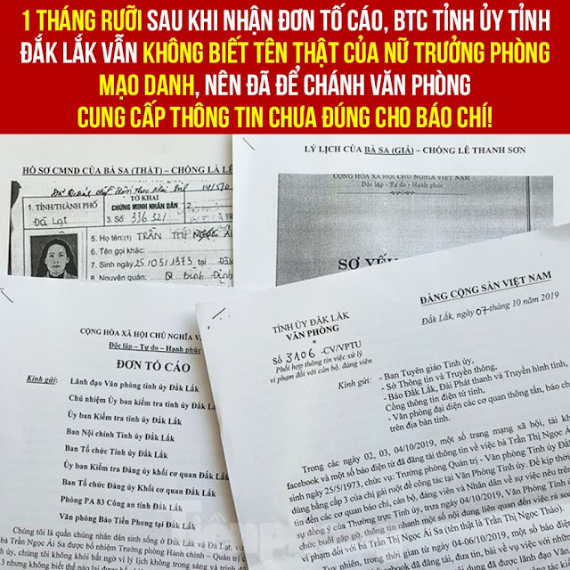 Hài kịch của Đăk Lăk: Sau 1 tháng rưỡi vẫn chưa biết tên thật của Trần Thị Ái Sa giả