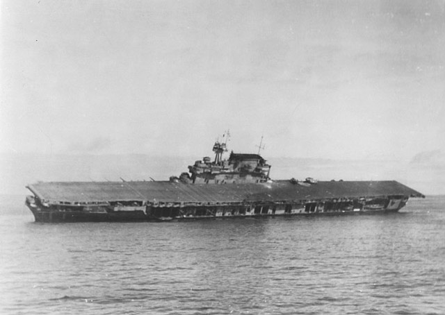 USS Yorktown sinknig 4 June 1942 worldwartwo.filminspector.com