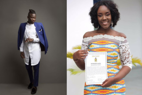 Meet the beautiful dentist Ghanaian singer, Stonebwoy is getting married to this Friday (Photos)