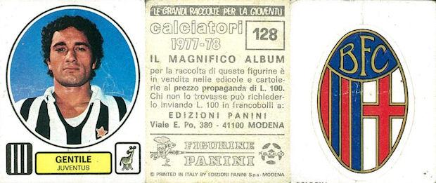PANINI CALCIATORI 1977//78 Rec Figurina n.373 PUNZIANO+MATERAZZI-BARI