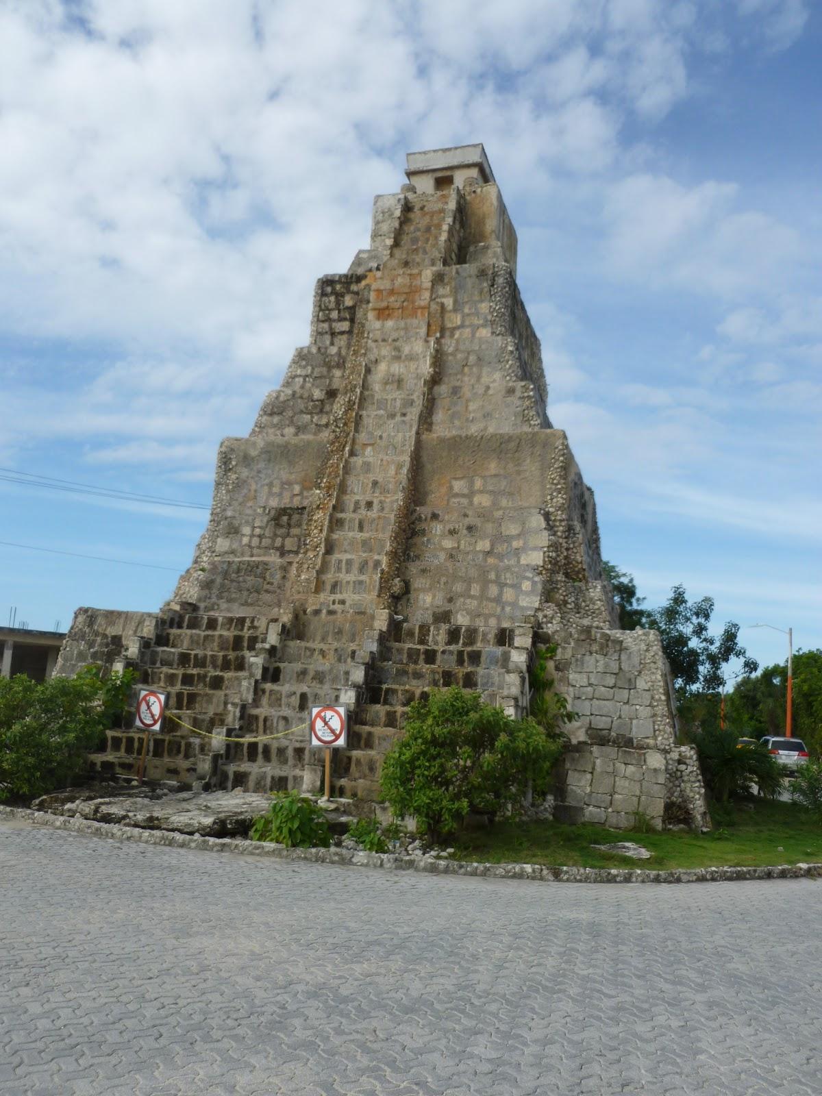 Maya Pyramid