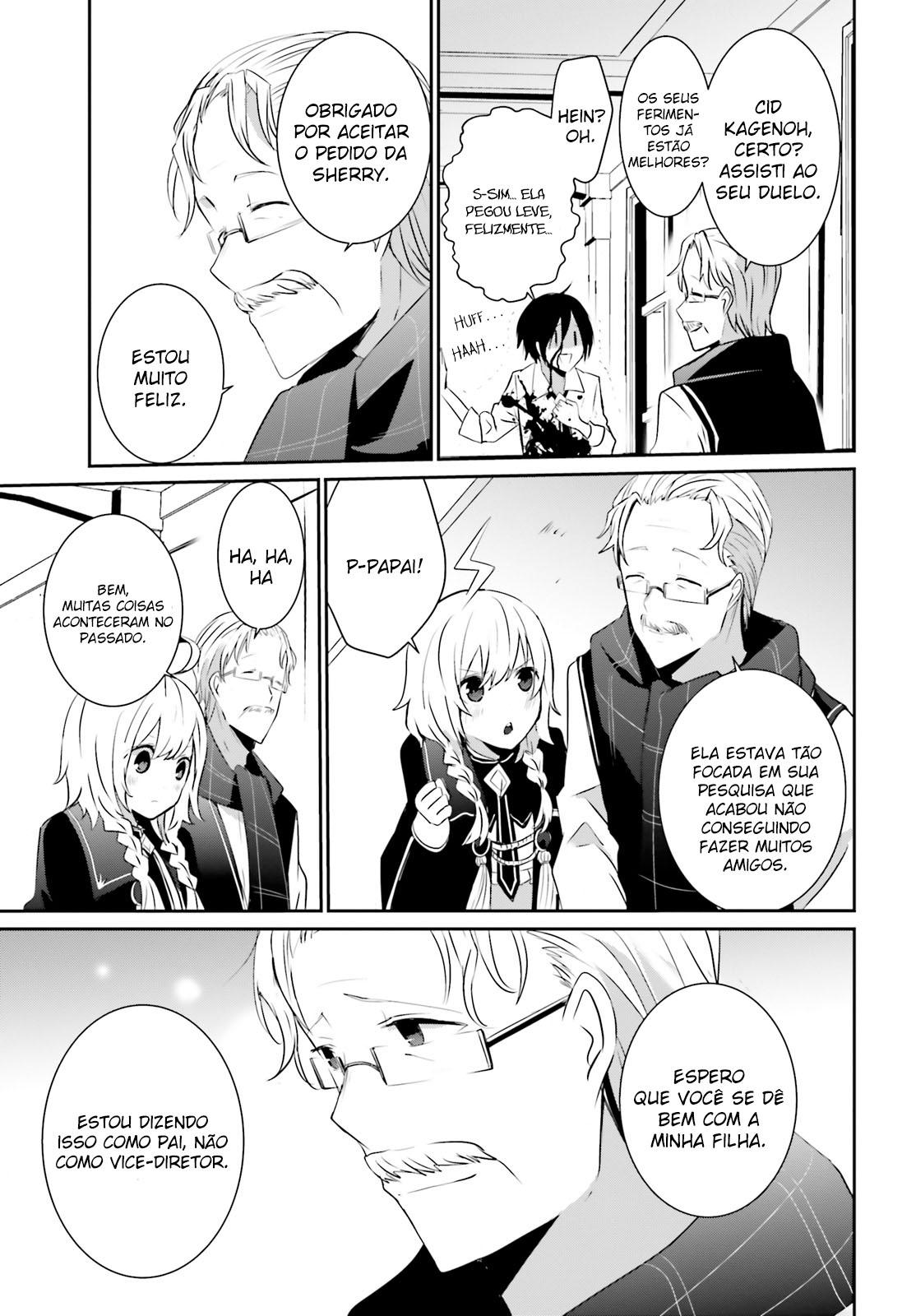 Kage no Jitsuryokusha ni Naritakute / The Eminence In Shadow Mangá Online Capítulo 09 em PT-BR