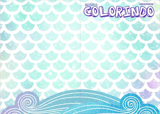Sirena: Imprimibles de Cumpleaños para Descargar Gratis.