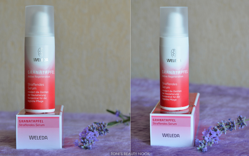 weleda pomegranate serum age defying