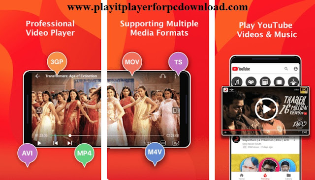 Features of PLAYit for iOS