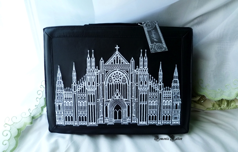 478ed217bf6ad Demonic Ratter  Restyle - gotycka walizka Cathedral suitcase