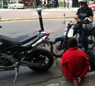 Εξιχνιάστηκε υπόθεση κλοπής μοτοποδηλάτου