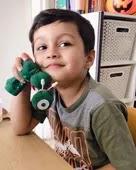 nisha rawal son