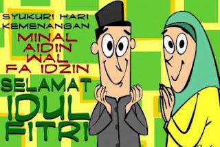 SMS Kata Maaf Idul Fitri