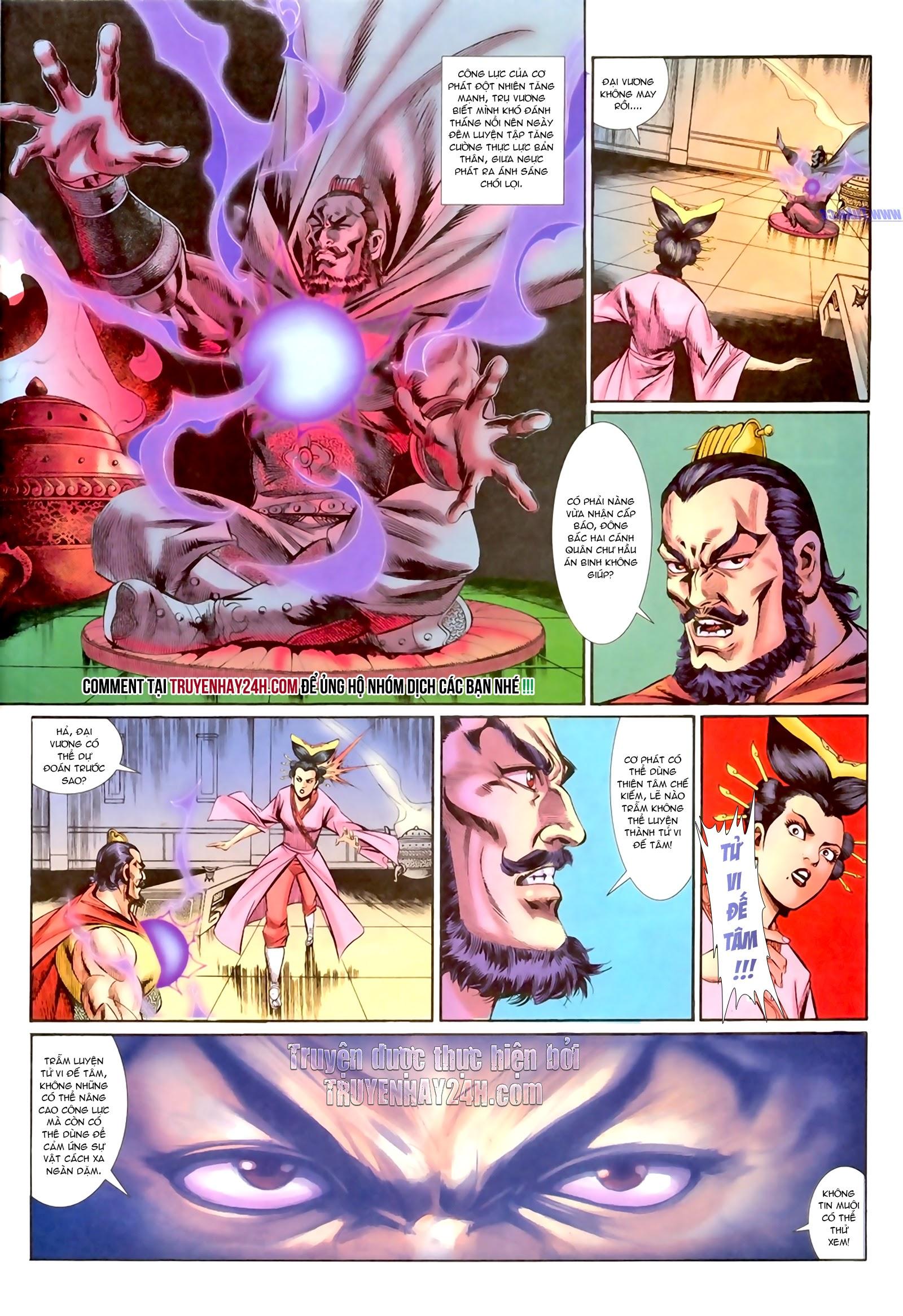 Cơ Phát Khai Chu Bản chapter 159 trang 24