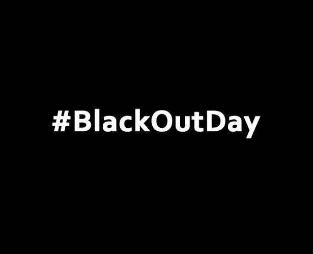 Blackout day