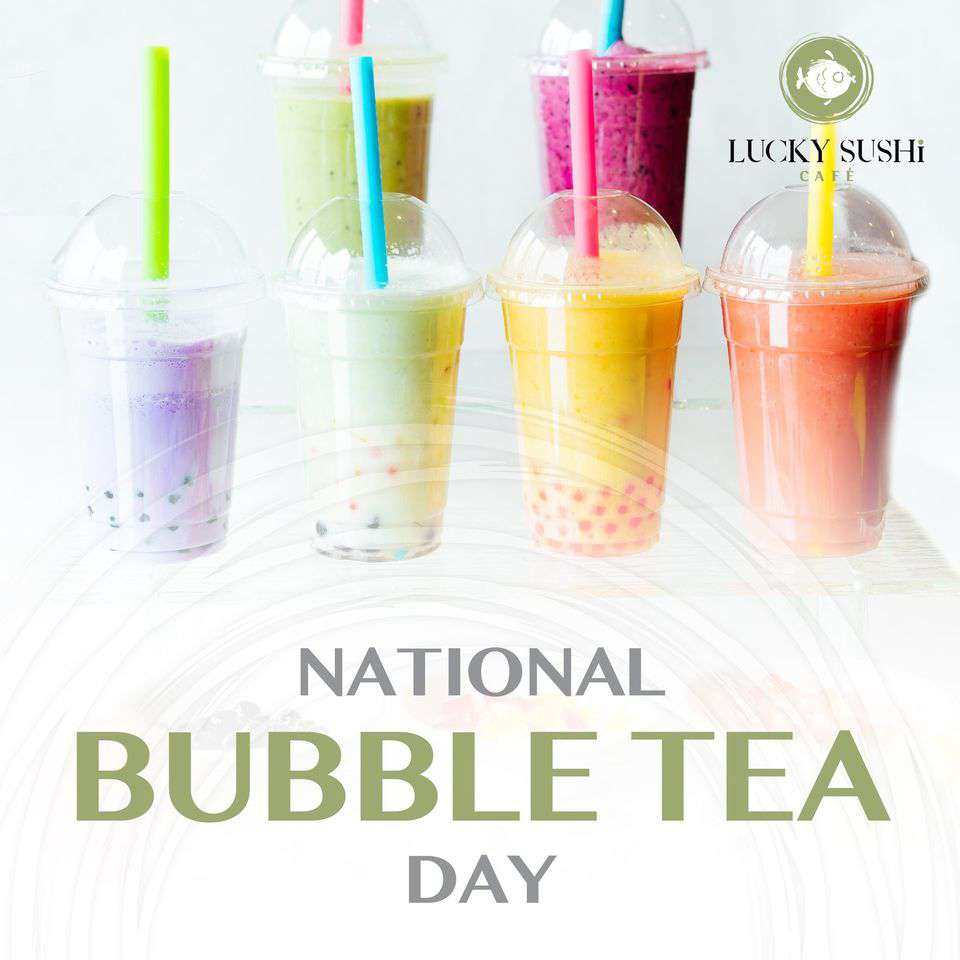 National Bubble Tea Day Wishes