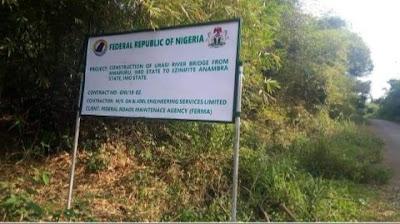 FG Rebuilds Bridge Linking Anambra To Imo State (Photos)