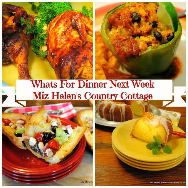Whats For Dinner Next Week,5-10-20 at Miz Helen's Country Cottage