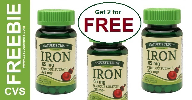 FREE Nature's Truth CVS Deal 4-26-5-2
