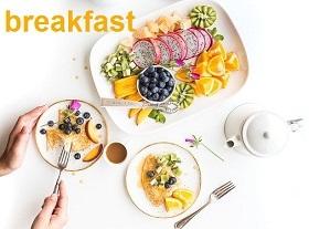 الحفاظ على تناول وجبة الإفطار لتثبيت الوزن