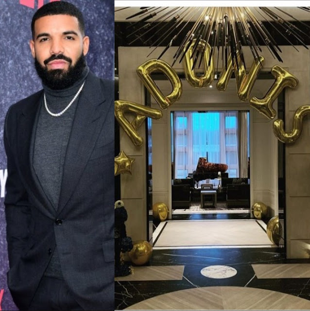 Drake celebrates the second birthday of his son