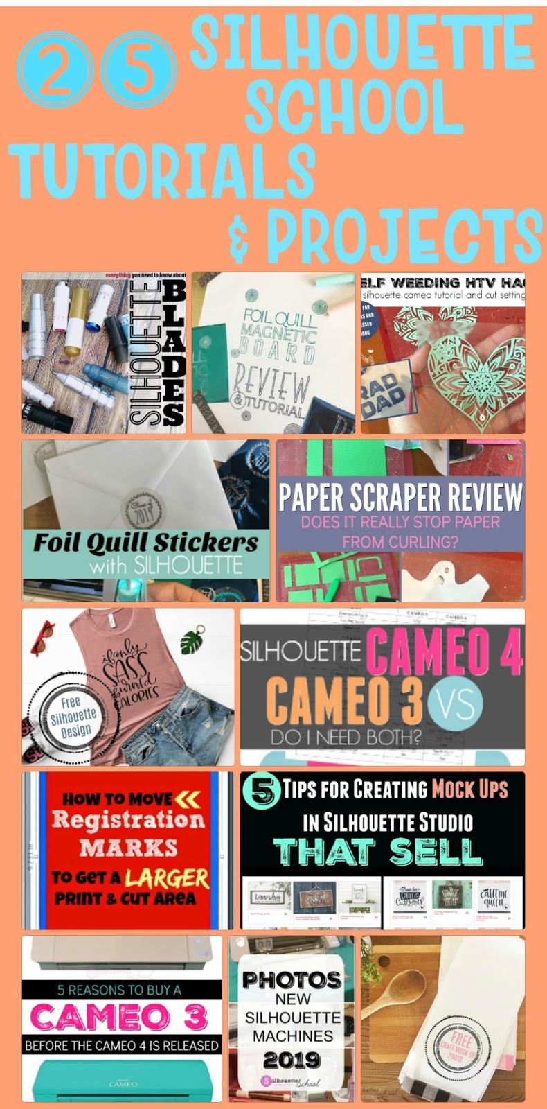 silhouette 101, silhouette america blog, silhouette studio, cameo 4, foil quill