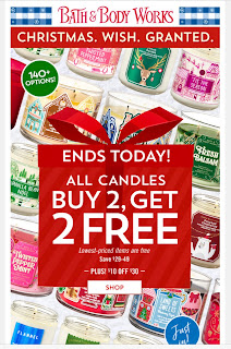 Bath & Body Works | Today's Email - November 18, 2019