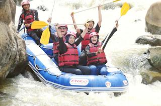 rafting di sungai progo puri asri