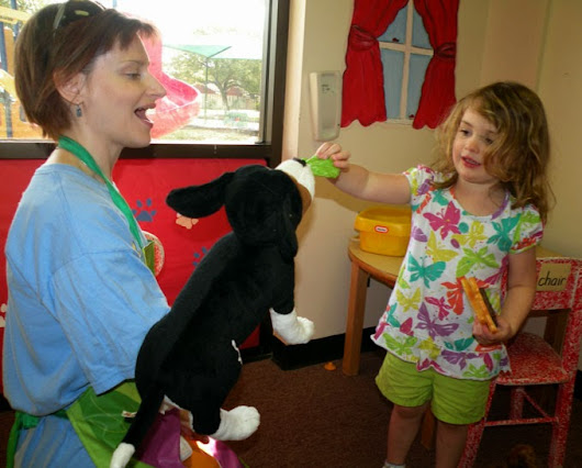 How puppets can help with social skills