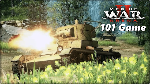 Военная экшн стратегия про 2 мировую - Men of War II: Arena (В тылу врага)