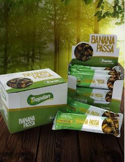 Tropdan lança nova embalagem para banana passa