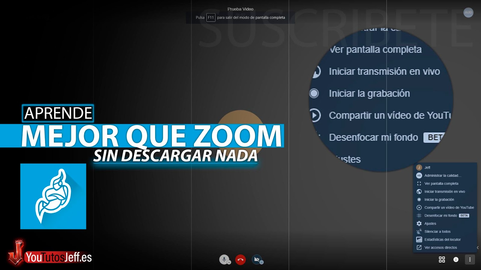La Mejor Alternativa a Zoom, Jitsi Meet