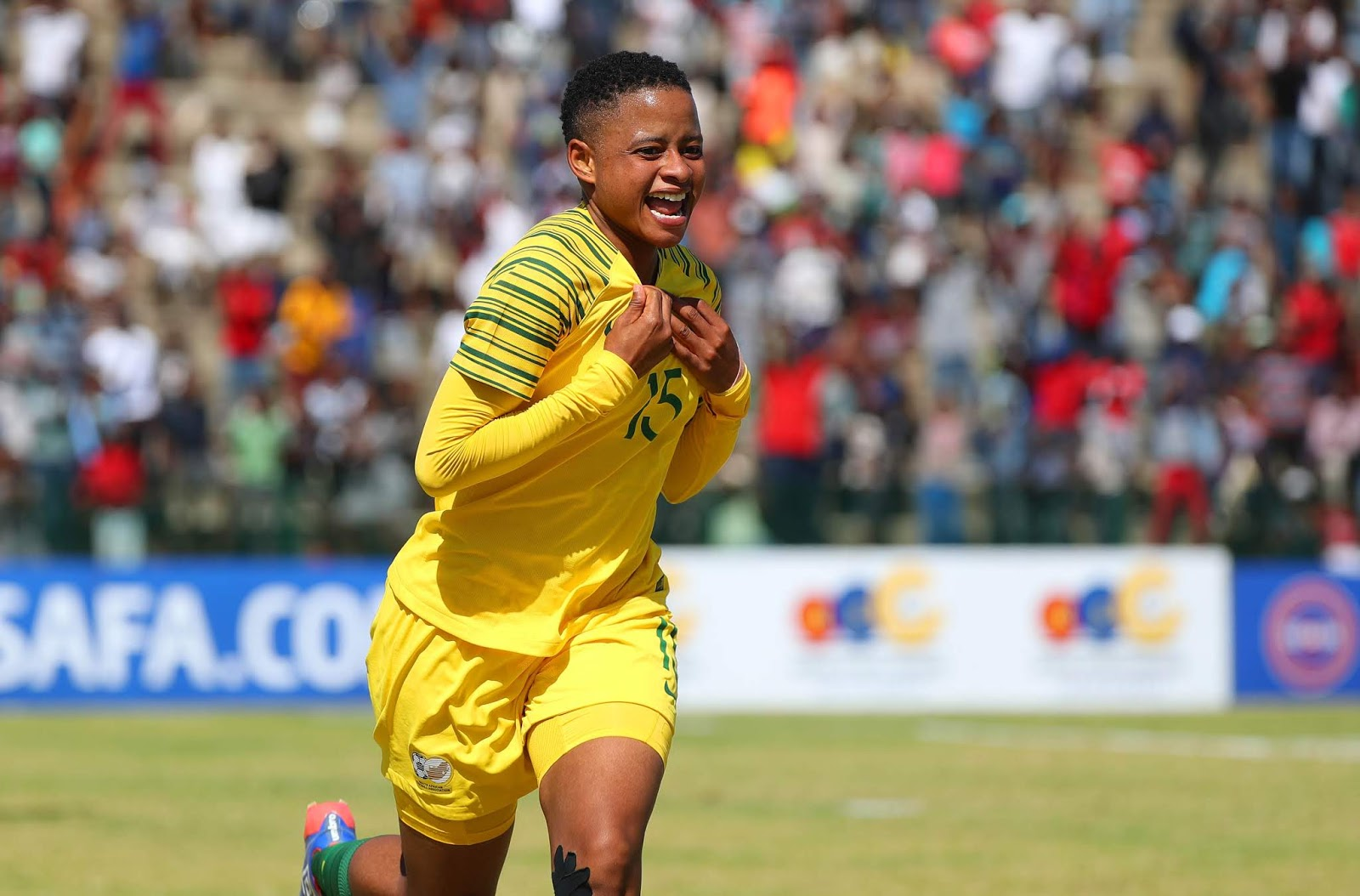 Refiloe Jane is a South African football midfielder