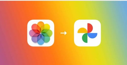 You can use Apple to transfer iCloud photos to Google Photos