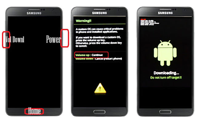 Tutorial Cara Flashing Samsung Galaxy Note 3 SM-N900 Bootloop