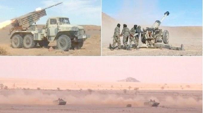 Regresan los ataques saharauis a Smara: Bombardeado un punto de control marroquí en Sabkhat Laagairiyin.