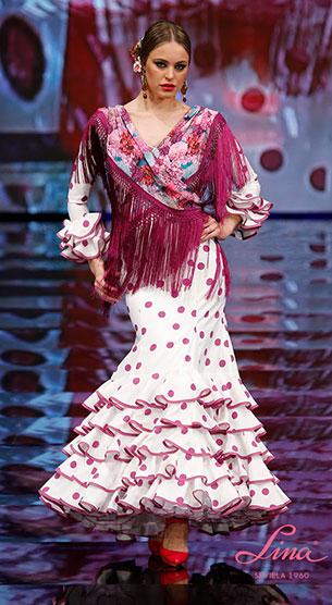 traje flamenca 2017 Lina
