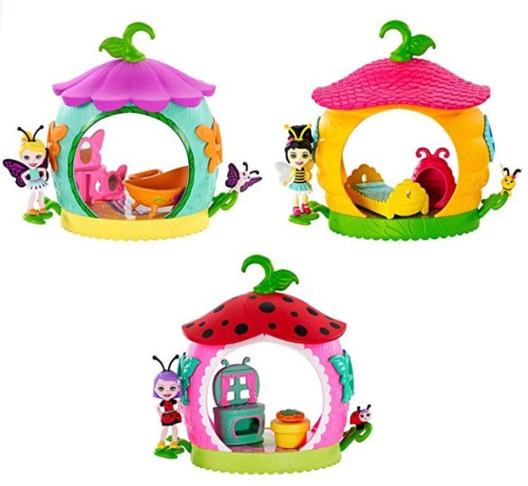 Ванная, спальня и кухня для кукол Enchantimals Bug Buddies