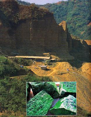 jade mountain in Kachin State