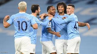 موعد مباراة مانشستر سيتي وشيفيلد يونايتد اليوم السبت 30-1-2021 في الدوري الانجليزي والقنوات الناقلة لها ضربة حرة