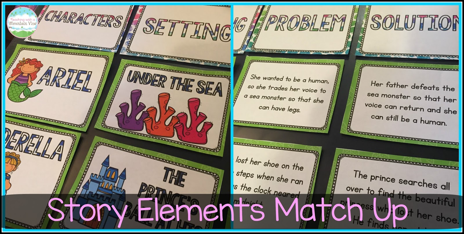 Teaching With A Mountain View Teaching Story Elements Amp A
