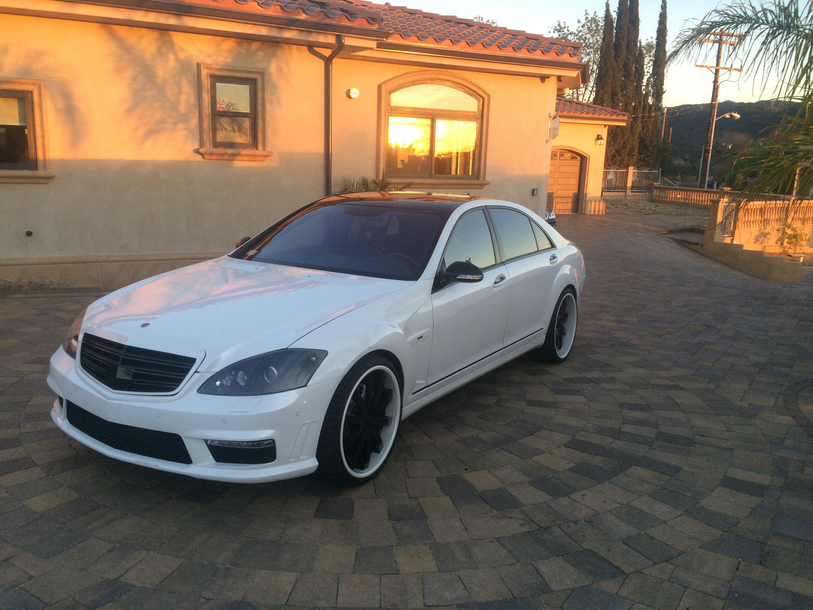 2008 mercedes benz w221 s550 on r22 forgiato wheels for Mercedes benz ss 550
