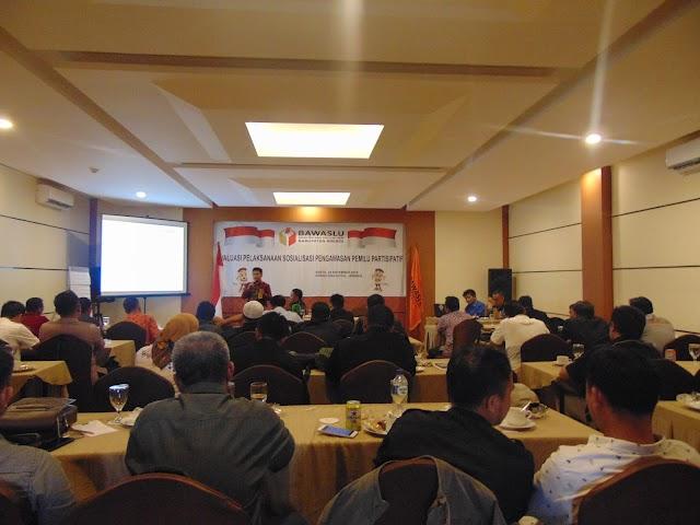 Evaluasi Sosialisasi Pengawasan Pemilu Partisipatif bagi Panwaslu Kecamatan Se-Kabupaten Brebes