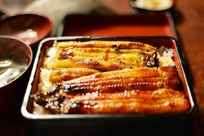 Unagi, or eel.