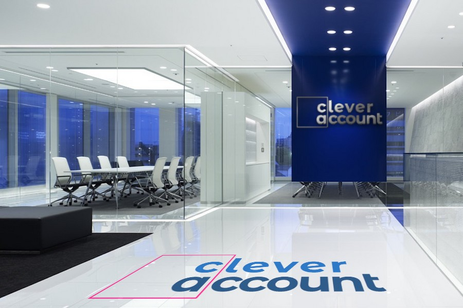 Clever Account Mock Brand Office