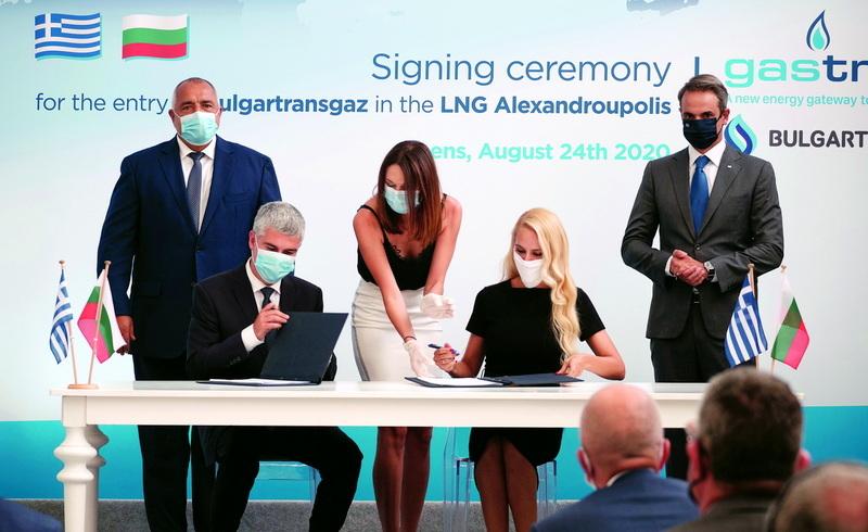 Ολοκληρώθηκε η συμμετοχή της Bulgartransgaz στον Σταθμό LNG Αλεξανδρούπολης