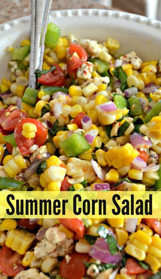 Easy Healthy Summer Corn Salad