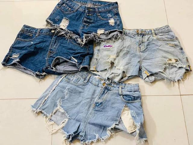 Quần jean ngắn