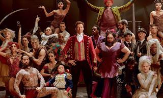 Protagonistas de El gran showman